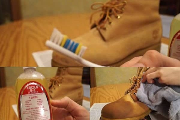 Things needed to clean Timberlands