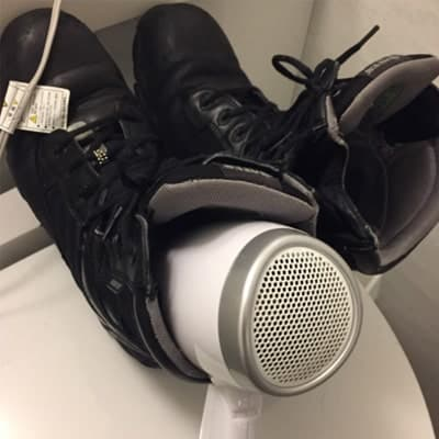 6 simple hacks on how to dry shoes fast after washing them - Pros and Cons 7
