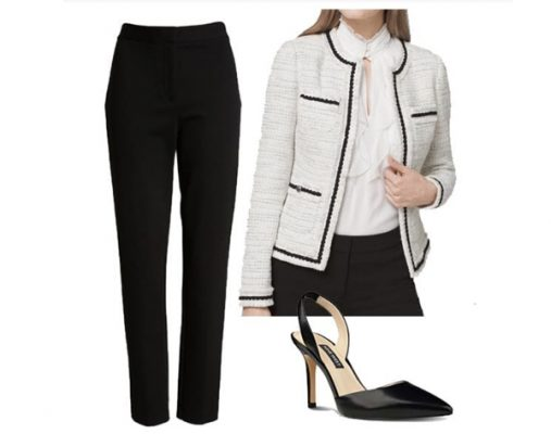 How to wear ankle pants to work - The outfit is very suitable for meeting