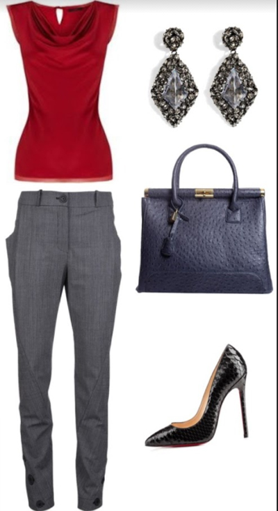 How to wear ankle pants to work - Formal Cropped Pants are the perfect office wear
