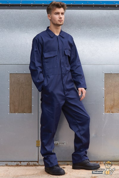 Heat resistant coverall