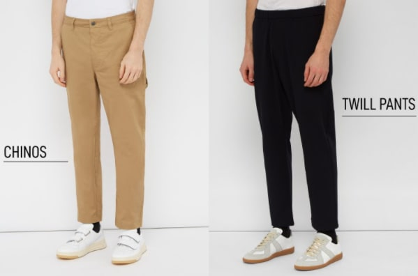 Twill Pants Vs Chinos: The Differences Between Them 1