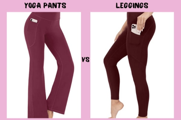 The Difference Between Yoga Pants vs Leggings: Which Is Right For You? 1